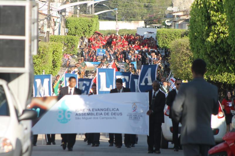 Desfile dos 86 anos de Assembleia em São Miguel dos Campos - São Miguel dos Campos